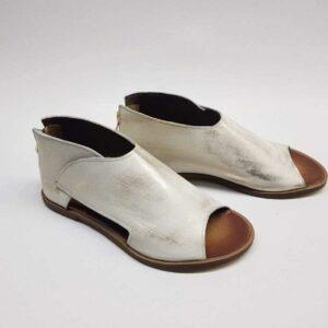 Sandały Ava White Gold