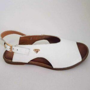 Sandały Lili White