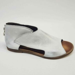 Sandały Ava White silver