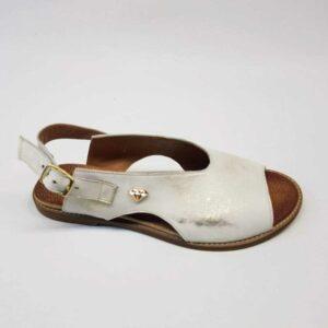 Sandały Lili White Gold